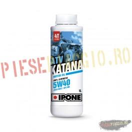Ulei ATV 4T Ipone Katana ATV 5W40 100% Sintetic - JASO MA2 - API SM, 60L