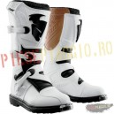 Cizme motocross Thor S4 Blitz ,culoare albe