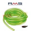 Furtun benzina 4x7 ciclomotor verde (rola 5 metri, pret pe 1m) (RMS)