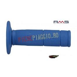 Mansoane cross/enduro Domino albastre/ lungime-118mm (RMS)