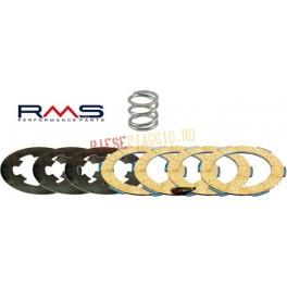 Set placute ambreiaj textolit+fier+arc Vespa 50/125-et3-pk-pk Xl Rush-n (RMS)
