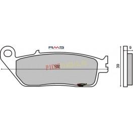 Placute frana (Kevlar) Honda CBR 600 '95-'98 /CBF 600 '04-'05