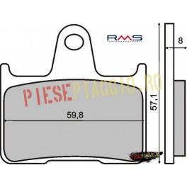 Placute frana (Kevlar) Suzuki GSXR 1000 '01-'05 /Honda CB 1300 '98-'01