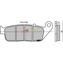 Placute frana (Kevlar) Yamaha/Honda 250