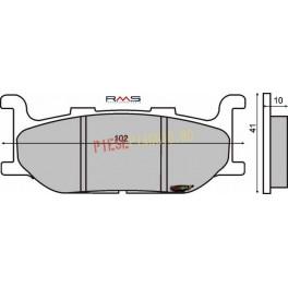 Placute frana (Sinter) Yamaha Majesty 400 '04/T-Max 500 '00-'03 /XJ 600