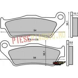 Placute frana echivalent MBS707/FA363