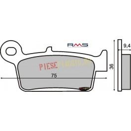 Placute frana Honda CR /CRE /XR / 125-650