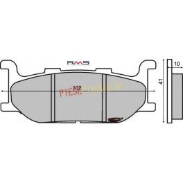 Placute frana Majesty 400 /T-Max '00-'03 /XJ 600