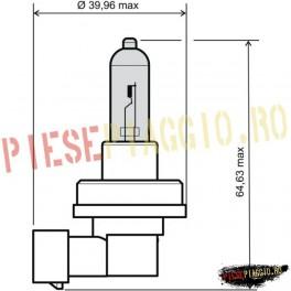 Bec 12V-55W H11 omologat (RMS)