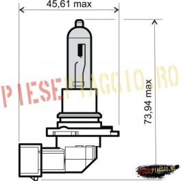 Bec 12V-65W HB3 (RMS)