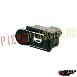 Buton claxon negru Piaggio NRG/Gilera (RMS)