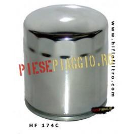 Filtru ulei Harley, cromat (HF174C)
