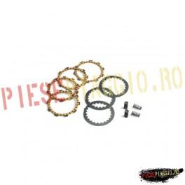 Set placute ambreiaj textolit+fier+arcuri Derbi Senda/Aprilia RX (Motor Parts)
