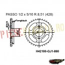 Pinion spate Z45 428 - H42100