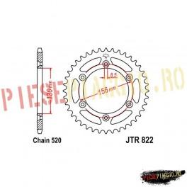Pinion spate Z50 520 - JTR822