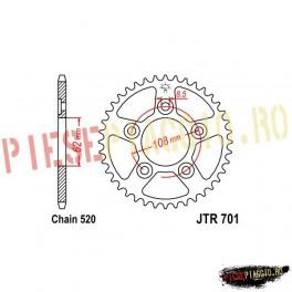 Pinion spate Z41 520 - JTR701