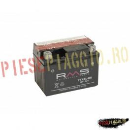 Baterie moto + electrolit 12V3AH (YTX4L-BS) (RMS)