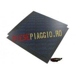 Folie de carbon pt lamele muzicuta 110X110 gr. 0,30 albastru (Polini)