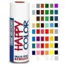 Vopsea spray acrilica happy color alb mat 400 ml