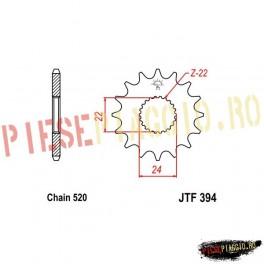 Pinion fata Z17 520 - JTF394
